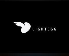 """""""Lightegg"""" - логотип для собственного портфолио. Продается. Дизайнер - Ольга Шу. #логотип #яйцо #крыло #крылья #птица #нло #egg #wing #bird #ufo #logo #лого #дизайн #design #logodesign #logotype #tailroom #inspiration"""