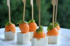Finger food melone e feta