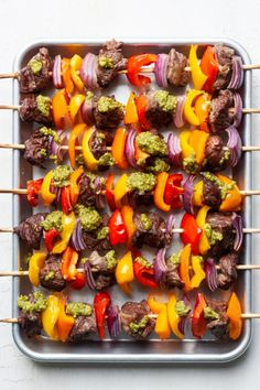 These Beef Kabobs are tender, flavorful and easy to make! The steak is melt in your mouth delicious and the veggies add a pop of color and flavor. These beef kabobs in the oven are great for holidays, entertaining, BBQs, and more! This post is sponsored by True Aussie Beef & Lamb. Australian grass fed […] The post Beef Kabobs in Oven appeared first on Organically Addison.