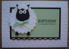 Hand made birthday card using SU Owl punch and scallop dies