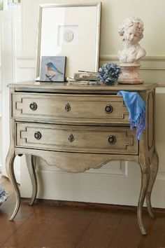 Galiena Two Drawer Console - Double Drawer Chest, Living Room Chest | Soft Surroundings