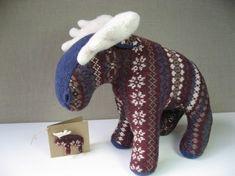 Resweater: Recycled wool dolls & animals week - ViolaStudio - part 2