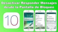 Aumenta la privacidad deshabilitando las Respuestas de de Mensajes desde la pantalla de bloqueo de tu iPhone con iOS 10. #iOS10 #iPhone #iPad #Apple downloadsource.es