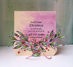 PaperArtsy: 2015 Quick and Easy Christmas Cards {by Keren Baker} Simple Christmas Cards, Holiday Cards, Christmas Holidays, Xmas, Stencils, Creative, Blog, Painting, Landscape