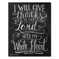 Give Thanks to the Lord - Print - Lily & Val