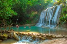 Pulosari Waterfall, The Hidden Paradise Of Yogyakarta, Indonesia