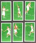 1936 TOBACCO CARD LOT OF 6 (TENNIS PLAYERS) JOHN PLAYER  SONS HI-GRADE WOW!! - amp, 1936, card, HIGRADE, JOHN, player, Player's, Sons, TENNIS, Tobacco