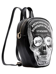 Shop Black Letters Skull Print Backpack online. SheIn offers Black Letters Skull Print Backpack & more to fit your fashionable needs.
