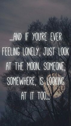 moon, lonely, and quote image ♠ALWAYS FELT THIS SINCE I WAS KID..M