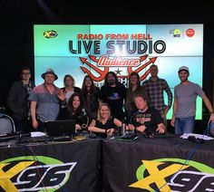 The Concept Marketing team was on x96 #RadioFromHell this morning playing a little family feud! And of course, we won! Thanks for having us on! . . . #utah #slc #saltlakecity #x96 #radio #ontheair #communications #broadcast #team #conceptmarketing #goteam #teamwork #workoutting #marketingagency