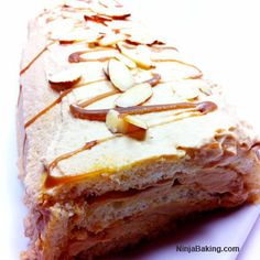 Butterscotch Cream Roll-Up, #CakeSliceBakers from NinjaBaker.com