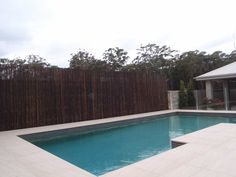 Our bamboo rod screens are made from a natural product that is ideal to be used as privacy screens or as a material for new fences for your property. Bamboo Screening, Fence Screening, Screen House, Privacy Screens, Pool Landscaping, Pool Ideas, Cladding, Yard, Australia
