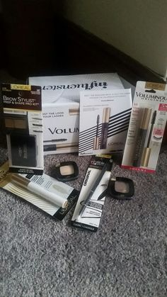 Influenster was kind enough to send me these #lorealmakeup products to review for free. I received an eyelash primer, mascara, eyebrow kit, eye liner and eyeshadow  stay tuned for the results.