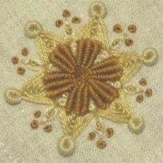パンジーの花の刺繍の画像   【かんたん刺繍教室】たった6つのステッチだけでらくらく刺繍上達ブログ