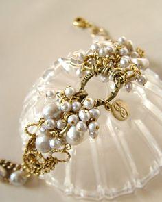 Pearl & Gold Bracelet