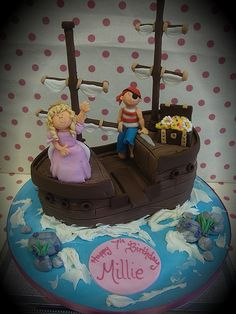 gorgeous pirate ship cake from richardcakes.co.uk
