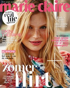 Marie Claire Netherlands Augustus 2015 cover