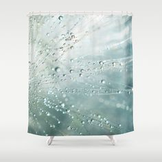 Blue Wispy Shower Curtain, Abstract Bathroom Art Home Decor, Water Drops Extra Tall Designer Shower Decor, Nature Home Decorating by InLightImageryHome on Etsy https://www.etsy.com/listing/294466227/blue-wispy-shower-curtain-abstract