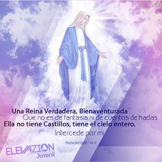 Bendita mujer, Dios se fijo en Ti, para llevar a cabo su plan de Salvación, Bendito el fruto de tu vientre, Jesus.