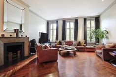 208 West 11th Street, West Village, Manhattan, New York: Featured on HGTV and House & Garden Magazine, this elegant four-story Italianate townhouse can be delivered vacant and is easily restored to a single family. Located on a tree-lined street in the West Village, this beautifully renovated and meticulously maintained home is one of the finest available.