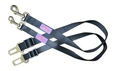 Kavsy™ Pet Car Adjustable Seat Belt, Safety Seatbelt Leash for Dog, Cat, and Pet While Travel in Auto. (Small, Black) Kavsy™ http://www.amazon.com/dp/B00T5KJPP2/ref=cm_sw_r_pi_dp_g6pTvb05GYY9S