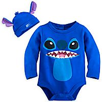 Stitch Onsie Set for Baby at the Disney Store!! I need this in my life!!!!!!!