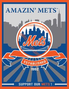 New York Mets Speakman art (available at Target)
