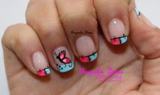 Cute Nail Art, Cute Nails, Nail Designs, Beauty, Nail Desighns, Butterfly Nail Art, Nail Manicure, Pretty Nails, Cosmetology