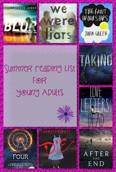 2014 Summer Reading List for Young Adults