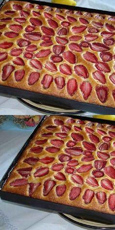 Baking Recipes, Cake Recipes, Yummy Treats, Yummy Food, Russian Recipes, Strawberry Recipes, How Sweet Eats, No Bake Desserts, I Foods
