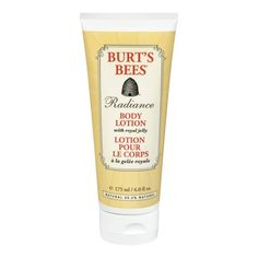 Cover parts of your body that are occasionally exposed this season in Burt's Bees Radiance Body Lotion to look all glow-y and less sun-deprived. | 21 Ways To Make Your Skin Glow This Winter