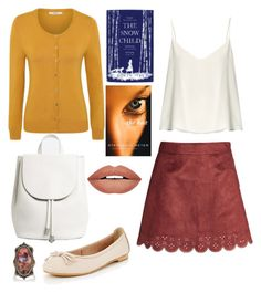 """""""Chic in the Library"""" by o-p-backe ❤ liked on Polyvore featuring Raey, George, Everlane, Sevan Biçakçi and Forever 21"""