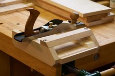 This afternoon's project? An adjustable miter shooting board for my low angle…