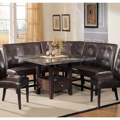 Acme Furniture Chantelle 10Pc Dining Set In Antique Platinum