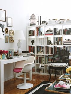 Make Your Home Office an Inspiring Place to Work.. love the decor..
