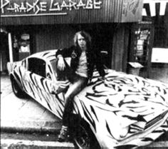Trevor Myles at Paradise Garage, 430 Kings Road, London, 1971