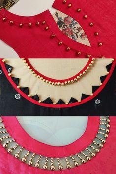 Churidhar Neck Designs, Salwar Neck Designs, Neck Designs For Suits, Kurta Neck Design, Neckline Designs, Sleeves Designs For Dresses, Blouse Neck Designs, Designs Kurta, Mehndi Designs