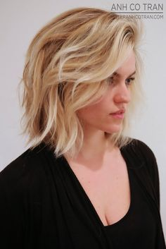 Anh Co Tran: LA: A BEAUTIFUL BOB AT RAMIREZ|TRAN SALON