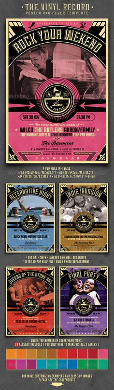 Cancer Benefit Flyer Templates | Fonts, Fundraisers and Design ...