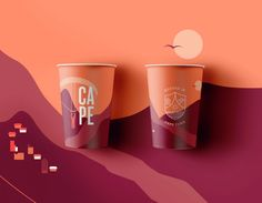Cape is a refreshing soft drink whose core ingredient, rooibos, is a plant native to the Western Cape in South Africa. The Cape brand celebrates the 'feel-good' Capetonian lifestyle through a vibrant visual language and engaging content that is best expressed through the colourful illustration on the cans and in a series of films created in collaboration with Sam Robinson - all of which sits under the brand strapline 'Rooted in Cape Town'.