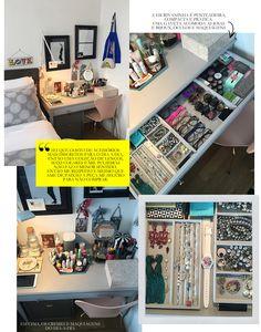 Viver com menos: o armário compacto, funcional e estilo de Cami Cilento