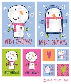 pop-i-cok: christmas cards