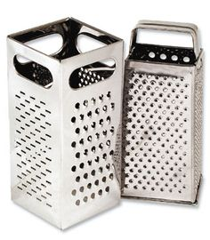 Royal Grater - ROY GR 77 Grater, 4 sided, heavy duty, stainless steel