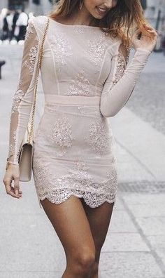 Applique Prom Dress,Sheer Sleeve Prom Dress,Bodycon Prom Dress,Fashion Prom Dress,Sexy Party Dress - Everything you are looking for Bodycon Prom Dresses, Hoco Dresses, Prom Dresses With Sleeves, Little Dresses, Pretty Dresses, Sexy Dresses, Beautiful Dresses, Fashion Dresses, Dress Prom