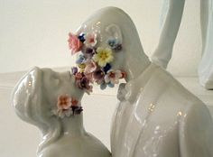 strenght to live #life as a gift #kiss #love #ceramic #figurines