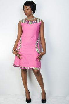 SALE: Ankara Arike Dress Babydoll Dress by MisiAfriqueBoutique