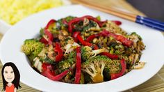 No Cook Asian Vegetable Stir Fry - Easy Self Saucing Recipe! --would add ginger and toasted sesame oil