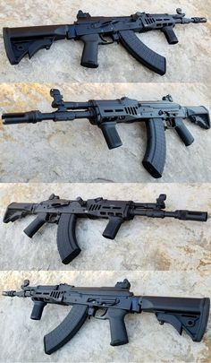 Assault Weapon, Assault Rifle, Weapons Guns, Guns And Ammo, Rifles, Custom Guns, Military Guns, Fire Powers, Cool Guns