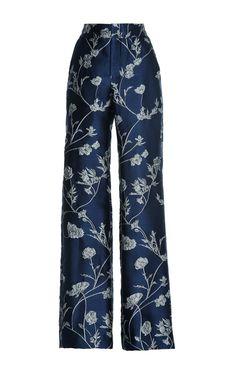 Arina Jacquard Pant by JOHANNA ORTIZ Now Available on Moda Operandi