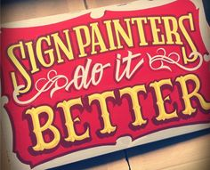 Cursos IdeaFixa: Sign Painting | Introdução ao Pincel de Letrista | IdeaFixa | ilustração, design, fotografia, artes visuais, inspiração, expressão
